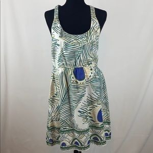 Young Threads Size XL Tropical Print Dress